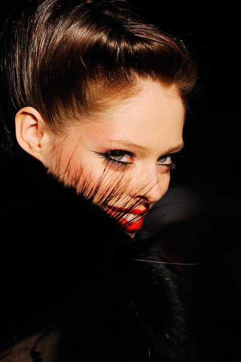 coco rocha dior. Coco Rocha keeps fans updated