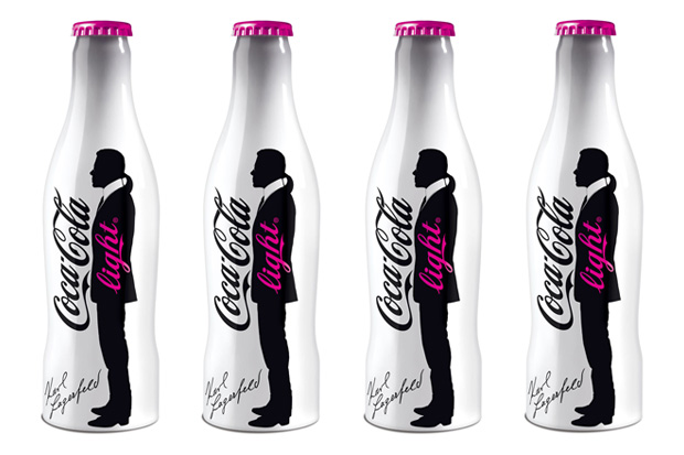Karl-lagerfeld-coca-cola-light-bottle