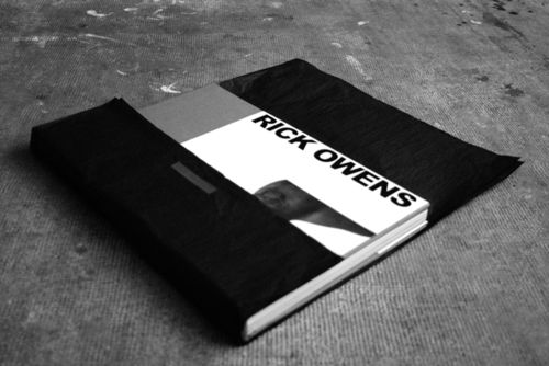 RICK OWENS BOOK 001 blog