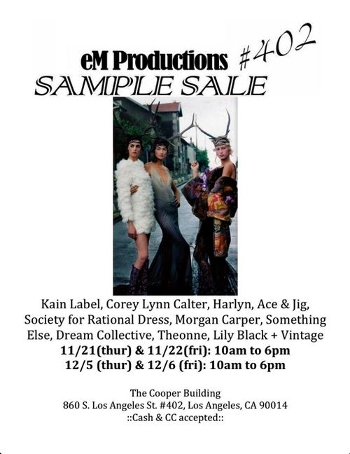 EMProductions-LA-SampleSale