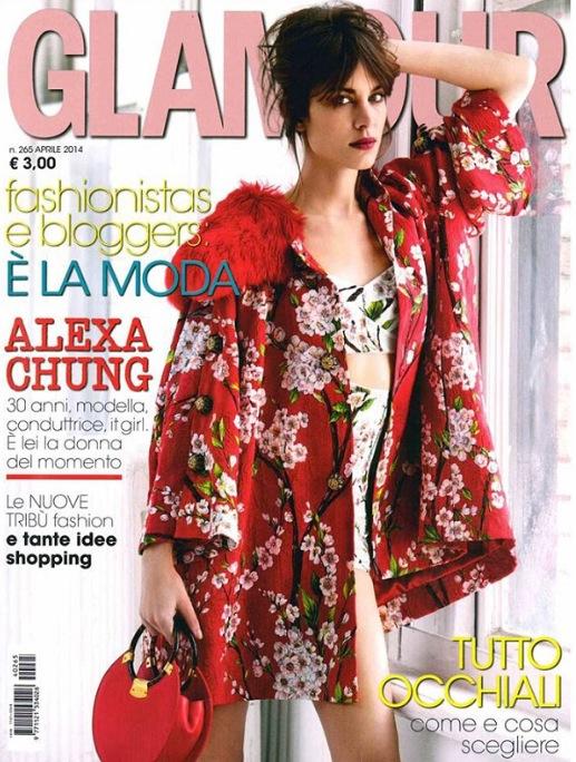 Alexa Chung + Italian Glamour = Very, Very Chic