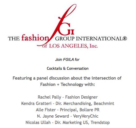 Veryverychic Fgl La S Quot Fashion Tech Quot Trend Event