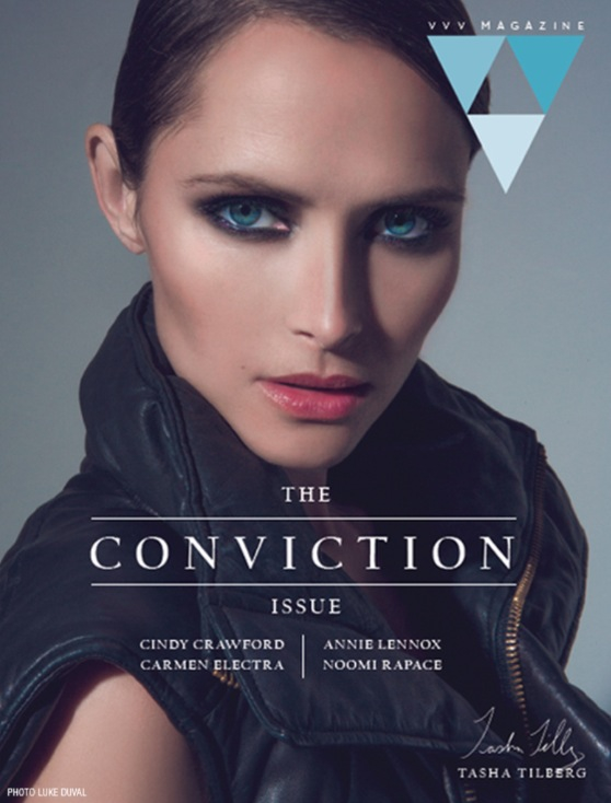 Tasha Tilberg is VeryVeryChic in VVV Mag